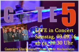 Konzertankündigung 20160903 Gate5